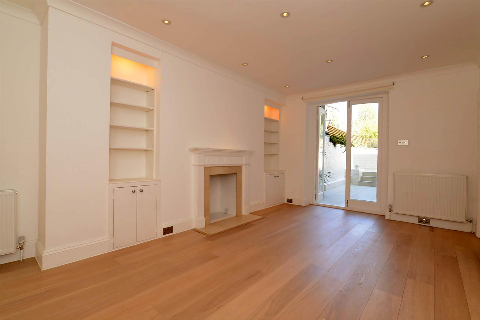 Chepstow Crescent oak floor