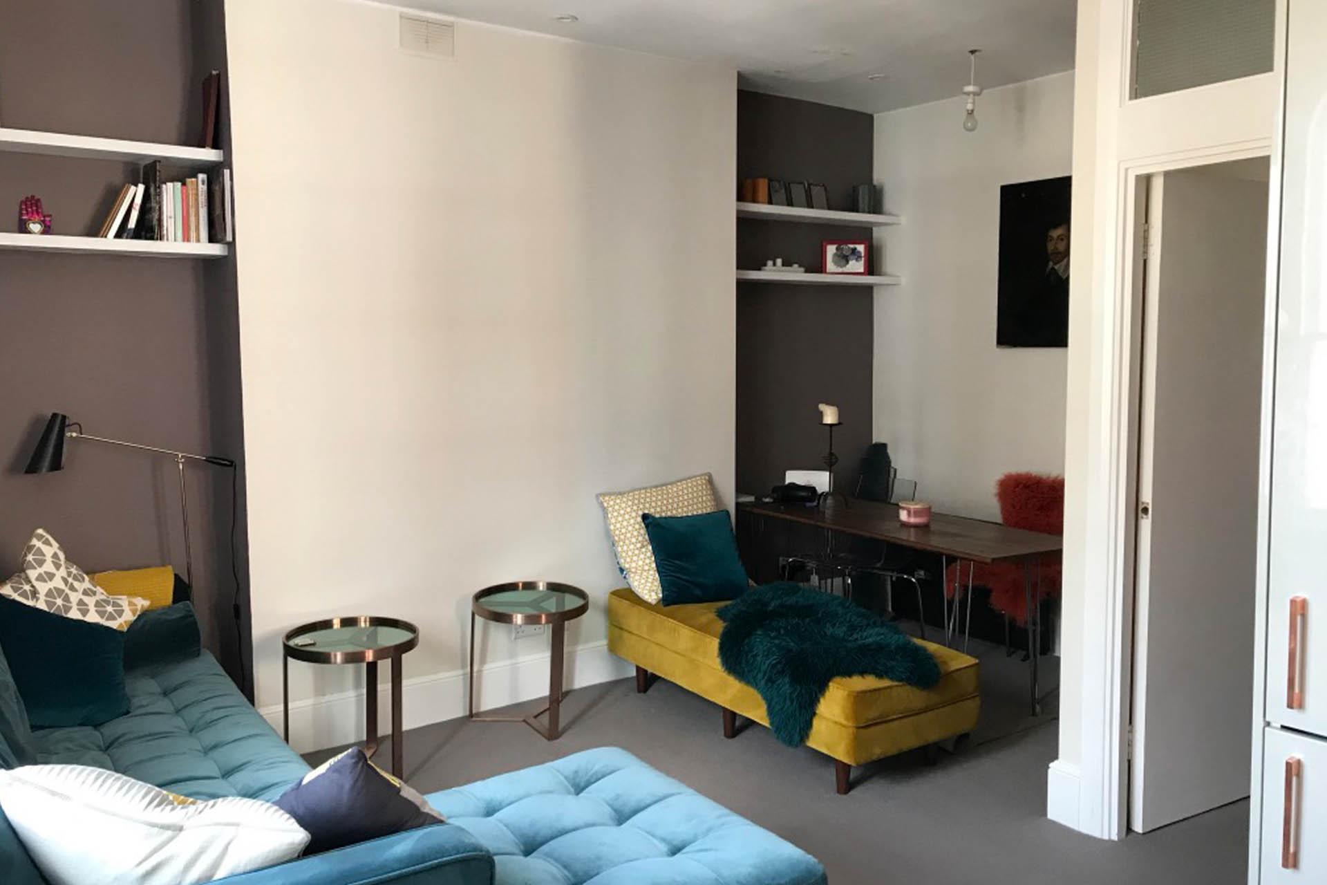 Kilburn NW6 living room