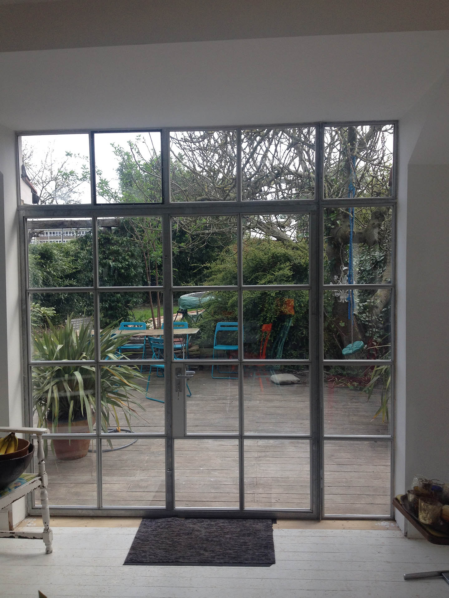 NW10 project Crittal doors
