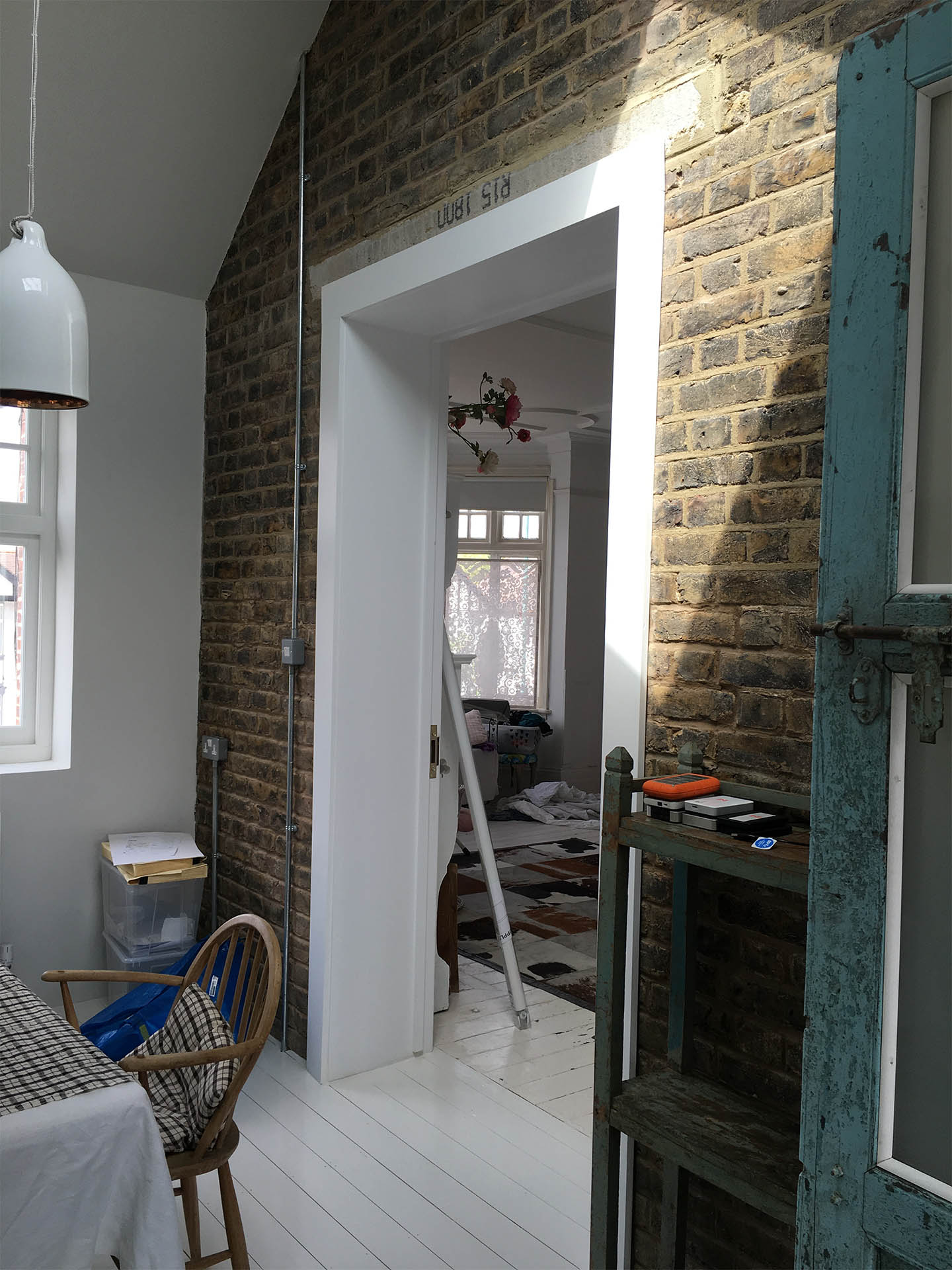 NW10 project knocked through wall