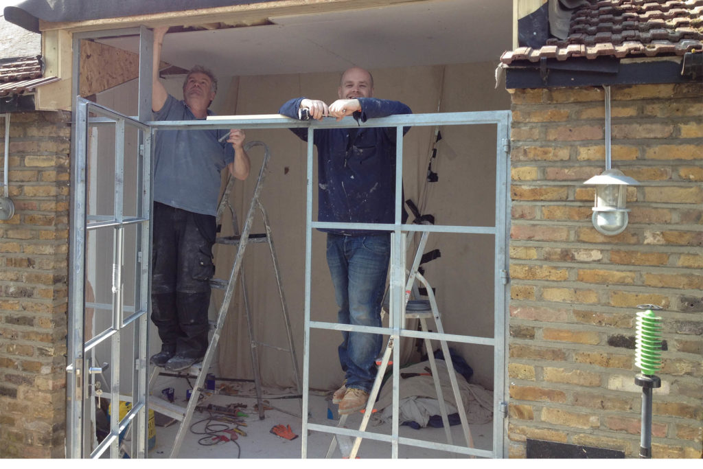 NW10 project installing Crittal doors