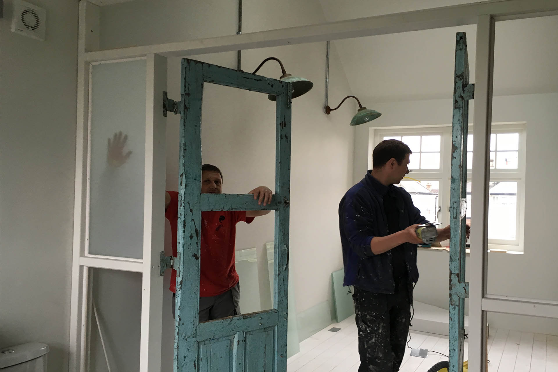 NW10 project installing doors