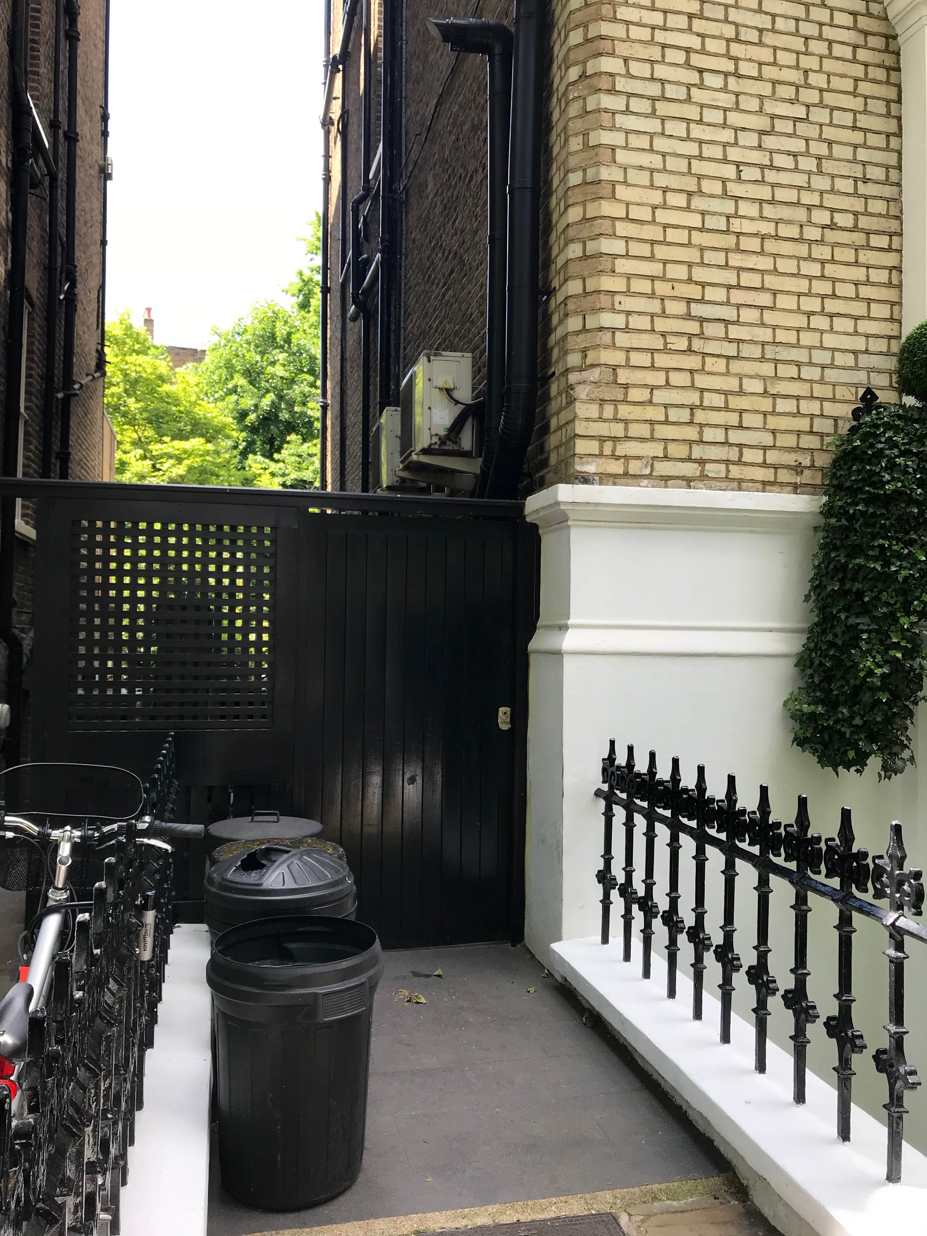 little boltons sw10 area by bins tanked and tiled buderus flues